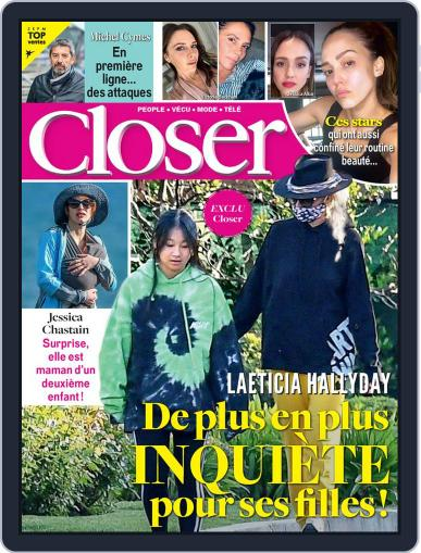 Closer France April 1st, 2020 Digital Back Issue Cover