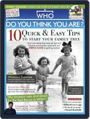 Who Do You Think You Are? (Digital) Subscription August 1st, 2019 Issue