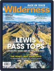 Wilderness New Zealand (Digital) Subscription April 1st, 2020 Issue