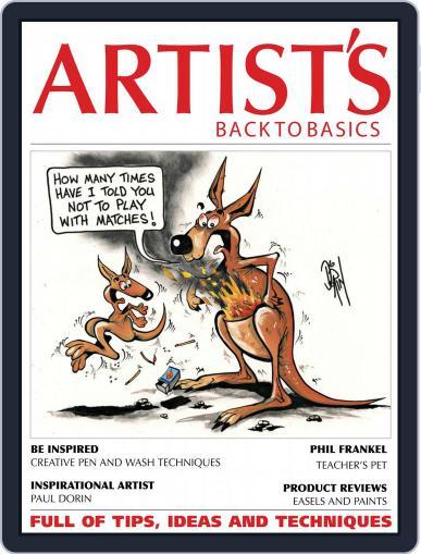 Artists Back to Basics June 1st, 2018 Digital Back Issue Cover