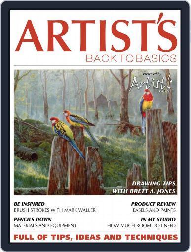 Artists Back to Basics September 1st, 2018 Digital Back Issue Cover