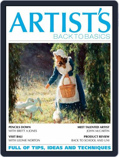 Artists Back to Basics January 1st, 2020 Digital Back Issue Cover