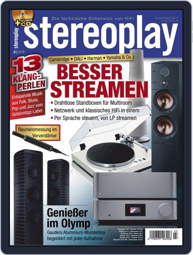 stereoplay March 1st, 2019 Digital Back Issue Cover