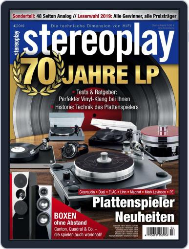 stereoplay April 1st, 2019 Digital Back Issue Cover