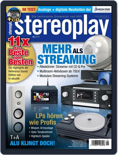 stereoplay May 1st, 2019 Digital Back Issue Cover