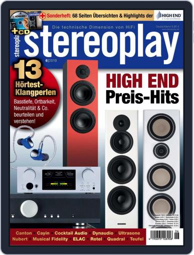 stereoplay June 1st, 2019 Digital Back Issue Cover