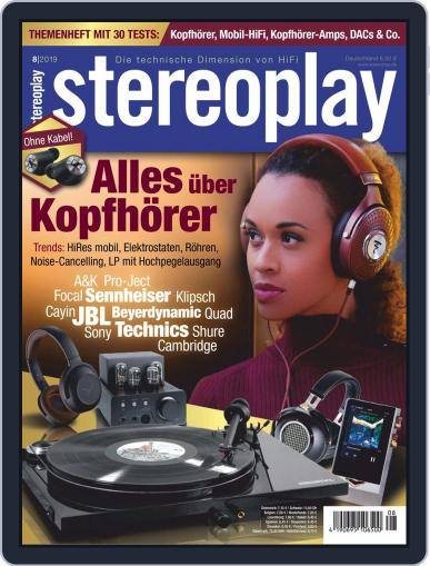 stereoplay August 1st, 2019 Digital Back Issue Cover