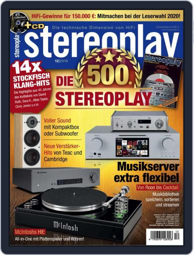 stereoplay December 1st, 2019 Digital Back Issue Cover