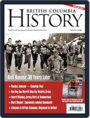British Columbia History (Digital) Subscription December 1st, 2017 Issue
