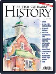 British Columbia History (Digital) Subscription March 1st, 2018 Issue