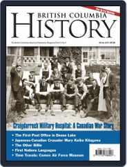 British Columbia History (Digital) Subscription December 1st, 2018 Issue