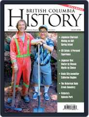 British Columbia History (Digital) Subscription September 1st, 2019 Issue