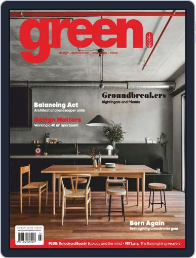 Green March 1st, 2018 Digital Back Issue Cover