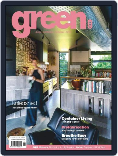Green July 1st, 2018 Digital Back Issue Cover