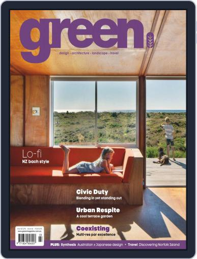 Green March 1st, 2019 Digital Back Issue Cover