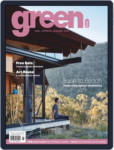 Green July 1st, 2019 Digital Back Issue Cover