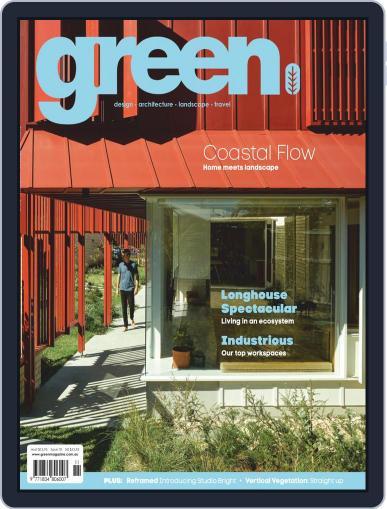 Green November 1st, 2019 Digital Back Issue Cover