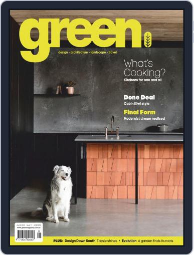 Green January 1st, 2020 Digital Back Issue Cover