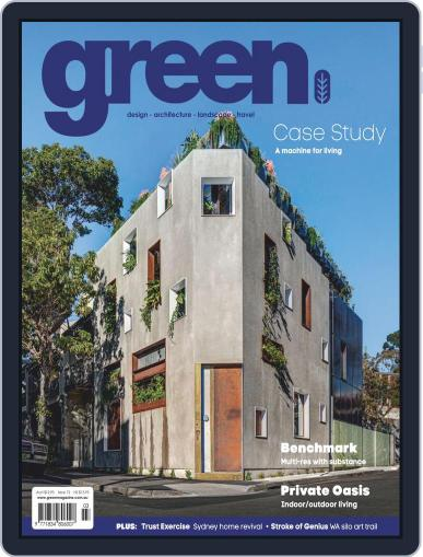 Green March 1st, 2020 Digital Back Issue Cover