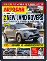 Autocar (Digital) Subscription April 22nd, 2020 Issue