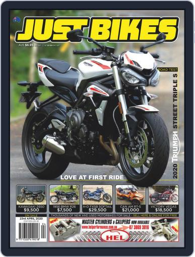 Just Bikes April 23rd, 2020 Digital Back Issue Cover