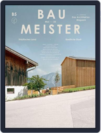 Baumeister May 1st, 2020 Digital Back Issue Cover