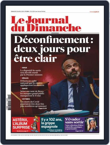 Le Journal du dimanche April 26th, 2020 Digital Back Issue Cover