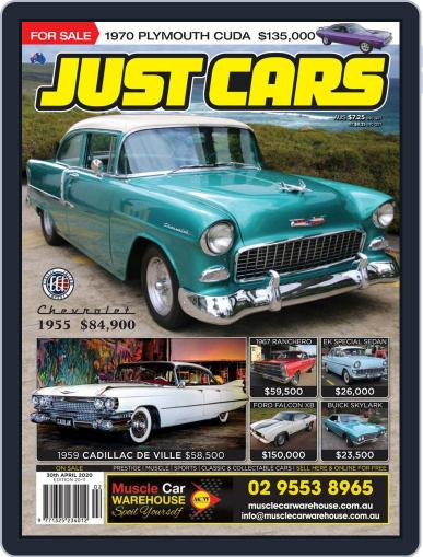 Just Cars April 30th, 2020 Digital Back Issue Cover