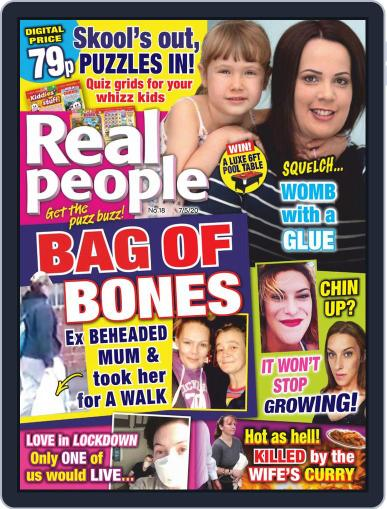 Real People May 7th, 2020 Digital Back Issue Cover