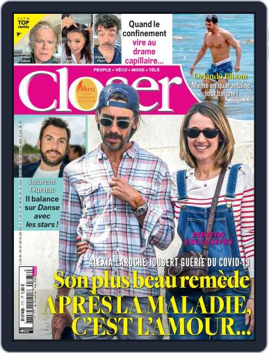 Closer France April 30th, 2020 Digital Back Issue Cover