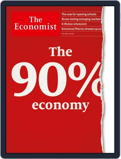 The Economist Continental Europe Edition May 2nd, 2020 Digital Back Issue Cover