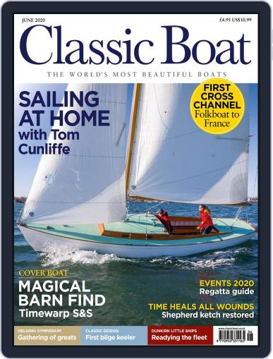 Classic Boat June 1st, 2020 Digital Back Issue Cover