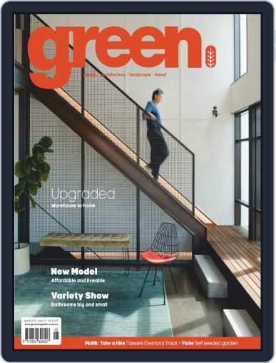 Green May 1st, 2020 Digital Back Issue Cover