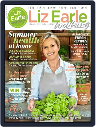 Liz Earle Wellbeing May 1st, 2020 Digital Back Issue Cover