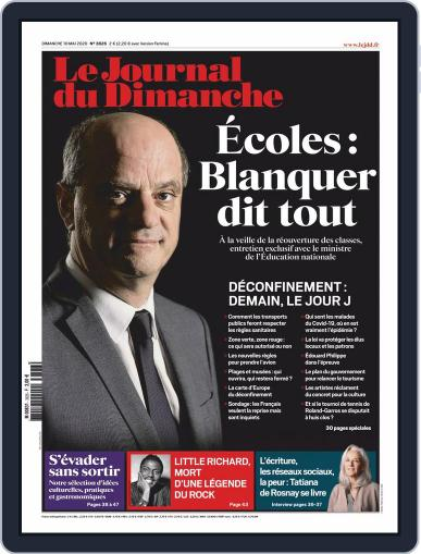 Le Journal du dimanche May 10th, 2020 Digital Back Issue Cover