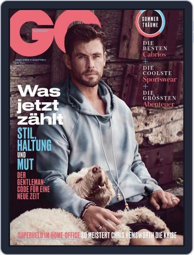 GQ Magazin Deutschland June 1st, 2020 Digital Back Issue Cover