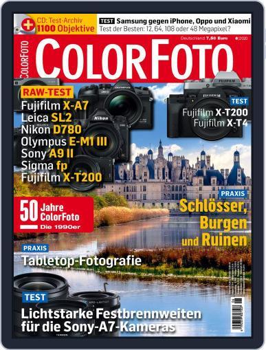 Colorfoto June 1st, 2020 Digital Back Issue Cover