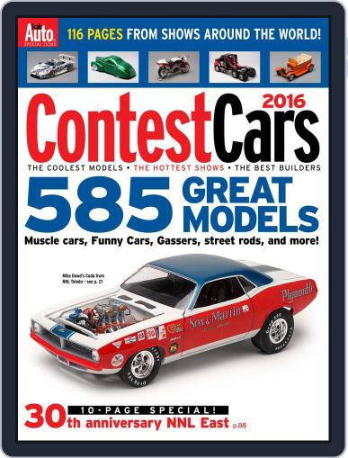 Contest Cars September 23rd, 2016 Digital Back Issue Cover