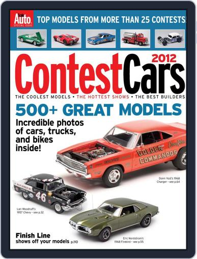 Contest Cars September 14th, 2012 Digital Back Issue Cover