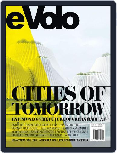 Evolo January 1st, 2011 Digital Back Issue Cover