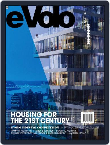 Evolo September 1st, 2009 Digital Back Issue Cover