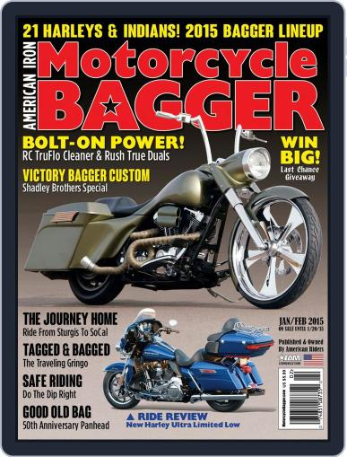 Motorcycle Bagger November 20th, 2014 Digital Back Issue Cover