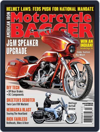 Motorcycle Bagger July 24th, 2014 Digital Back Issue Cover