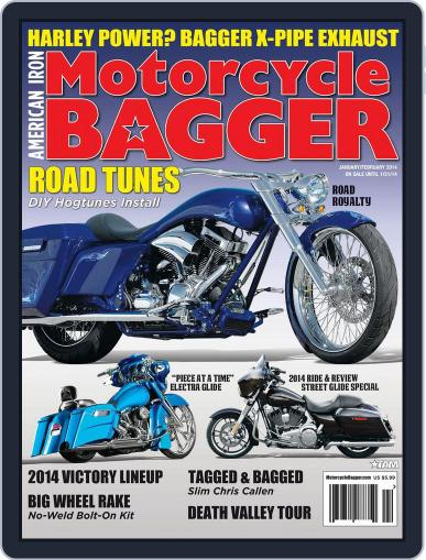 Motorcycle Bagger November 21st, 2013 Digital Back Issue Cover