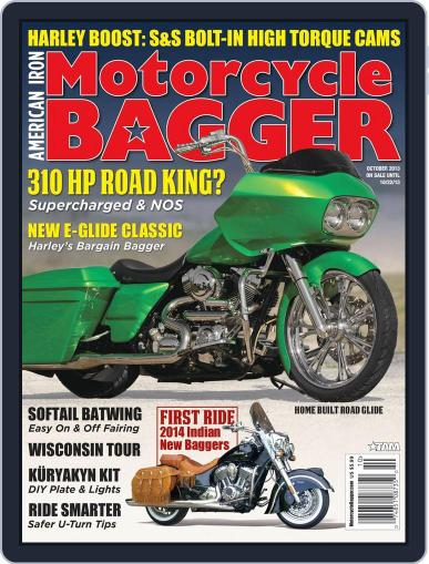 Motorcycle Bagger August 29th, 2013 Digital Back Issue Cover