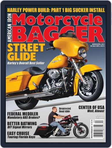 Motorcycle Bagger April 1st, 2013 Digital Back Issue Cover
