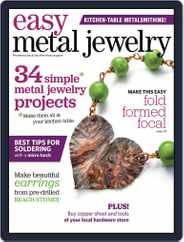 Easy Metal Jewelry Magazine (Digital) Subscription June 1st, 2014 Issue