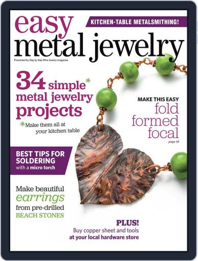 Easy Metal Jewelry June 1st, 2014 Digital Back Issue Cover