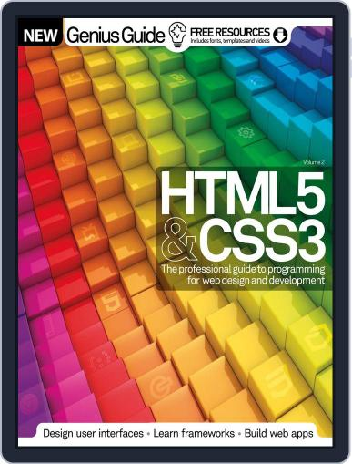 HTML 5 & CSS3 Genius Guide February 11th, 2015 Digital Back Issue Cover