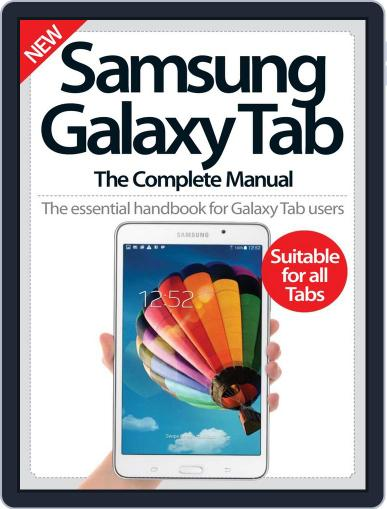 Samsung Galaxy Tab The Complete Manual December 1st, 2014 Digital Back Issue Cover